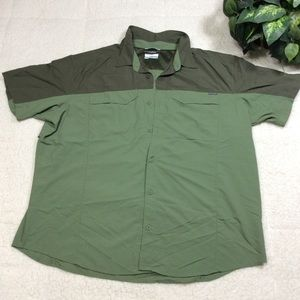 Columbia Omni-Shade  Sleeve Button Down Shirt XXL